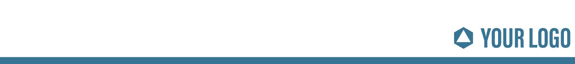 header with Company logo