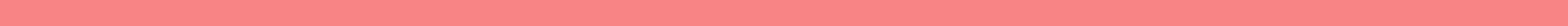 Footer with pink line